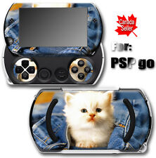 Cat Kitty Cute SKIN STICKER DECAL COVER for SONY PSP Go