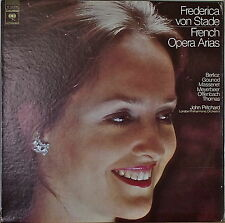 FREDERICA VON STADE: French Opera Arias-NM1976LP w/ TEXT INSERT