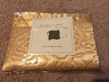Ready To Bed Ann Gish Quilted Poly Gold Rose Sham