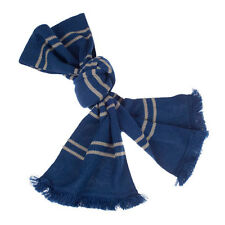 universal studios harry potter ravenclaw house blue tassels scarf new with tags