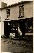 ? Trecastle. D. Thomas, Mill Stores Shop. South Wales News Poster.