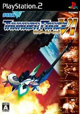 UsedGame PS2 Thunder Force VI 6 shooting game [Japan Import] FreeShipping