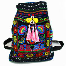 Hmong Tribal Ethnic Thai Indian rucksack embroidery Boho Hippie backpack bag 170