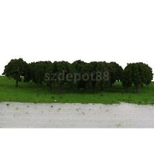 20pcs Model Apple Fruit Trees Architectural Scenery Railroad Train HO Scale