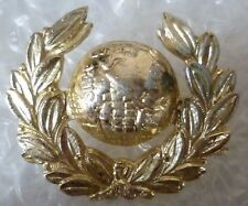 Staybrite Badge- Royal Marines Collar Badge - Anodised (A/A Org)