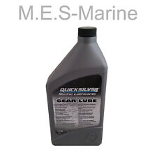 QUICKSILVER HIGH PERFORMANCE GEAR LUBE 1 LITRE FOR OUTBOARDS, STERNDRIVES