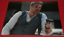 SAM ROCKWELL SIGNED MR RIGHT FRANCIS READY TO SHOOT GUN PHOTO AUTOGRAPH COA
