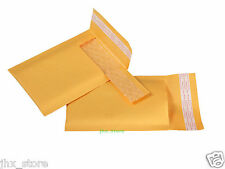 """1pcs Kraft Bubble Mailers Padded Envelope Bags USABLE SIZE 3"""" x 6""""_75 x 150mm"""