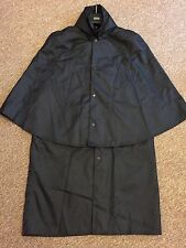 Professional Quality Scottish Piper INVERNESS RAIN CAPE / COAT W'PROOF SIZE: M
