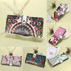 Lady Women PU Leather Clutch Wallet Long Card Holder Case Ethnic Purse Handbag