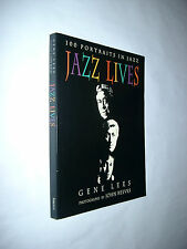 JAZZ LIVES 100 PORTRAITS IN JAZZ MUSIC ARTISTS HISTORY PHOTOGRAPHY PHOTOGRAPHER
