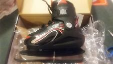Roces Boy's Swich ice skates, size adjustable, red/black.  Brand new in box