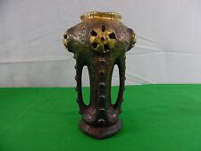 Antique Amphora Art Nouveau 4 Handle Vase Fabulous Austria Bohemian