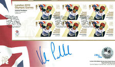 Victoria PENDLETON Autograph Signed Official Olympic FDC AFTAL COA Track Cyclist