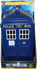 Doctor Who 11th Dr's TARDIS Talking Cookie Jar, New!