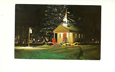 CHAPEL IN THE PARK, CHRISTMAS LIGHT DISPLAY, SIMCOE, ONTARIO, CANADA  POSTCARD