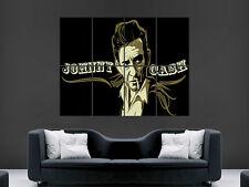 JOHNNY CASH SINGER LEGEND  CLASSIC LEGEND HUGE LARGE WALL ART POSTER PICTURE