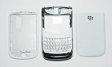 New Full Housing Cover Fascia Facia case for Blackberry Torch 9800 white  296401