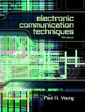 Electronic Communication Techniques by Paul H. Young (2003, Hardcover, Revised)