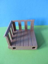 Playmobil * madera balcón palco rey ritterburg 3268 rey ritterburg wehrgang