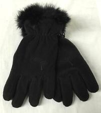 Scott Ladies Phoebe After Ski Fashion Fleece Gloves Black Small NEW