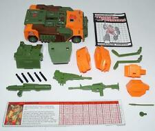 Roadbuster ~ 100% Complete 1985 Action Figure G1 Transformers Jeep W PAPERS