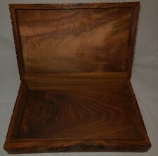 Wooden Box Art Sketched Pictures Marijuana Stash Trinkets