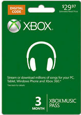XBOX Music Pass - Groove - 3 Month Subscription