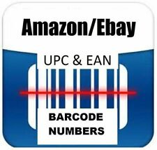 50 UPC EAN Bar Code for Amazon India,Ebay,Flipkart, Amazon USA Other Sites