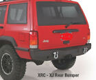NEW 1984-2001 Jeep Cherokee Black XJ Rear Bumper with Hitch