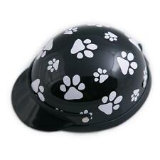 NEW! Dog's Helmet-Biker-Costume-Black Pawz-For Small Pets 5-10 lbs-Ship From USA