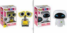 "Funko WALL E & EVE 3.75"" POP Figure  SET"