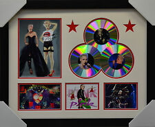 PINK  3CD  MEMORABILIA FRAMED SIGNED LIMITED EDITION #A