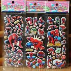10 x SPIDERMAN Stickers Party Bag Fillers Birthday party favours, games