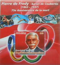 Pierre de Coubertin / Olympic Games  Madagascar 2012 s/s Imperf MNH #P221