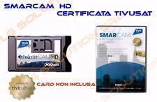 CAM HD TIVU'SAT DECODER E TV TIVU SAT HD CERTIFICATA  COMPATIBILE NUOVA