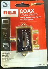 A/B Two-Way Coax TV Switch RCA VH71R