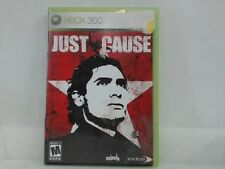 JUST CAUSE --- XBOX 360 Complete CIB w/ Box, Manual