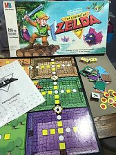 Legend of Zelda board game 1988 vintage 80s Nintendo Milton Bradley