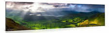Stretched Canvas Print - HEAVEN OPENS UP Large Landscape Wall Art e4864