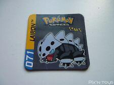 Magnet Staks Pokémon Advanced / 071 Lairon / Panini 2003 [ Neuf ]