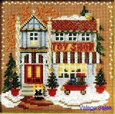 "Mill Hill Buttons Beads Cross Stitch Kit 5"" x 5"" ~ TOY SHOP Sale #14-6301"