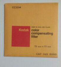 Kodak No CC20M (CAT 1496660) Color Compensating Filter 75 mm X 75 mm