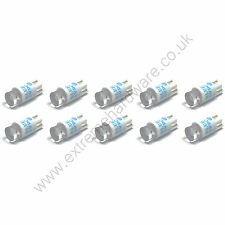 10 x Blue 5v 10mm T10 Wedge Base LED Bulbs for Arcade Push Buttons - MAME