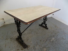 metal base,table,kitchen,dining room,conservatory,pub,price PT,two,vintage,small
