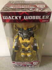 FUNKO TRANSFORMERS BUMBLE BEE BOBBLE HEAD WACKY WOBBLER RARE CHASE PIECE BRN NEW