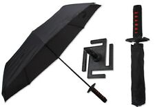 Bleach Samurai Katana Kurosaki ichigo Sword Umbrella 3 Foldable Cosplay Umbrella