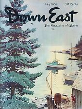 Down East Maine Magazine 1966 July Bath/Camden/Winslow Homer At Prout's Neck