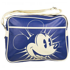 Mickey Mouse Retro Shoulder Bag Messenger Sports School Bags White Gifts Xmas