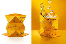 FRENCH CHAMPAGNE VEUVE CLICQUOT CLICQ'UP ORIGAMI BUCKET / COOLER